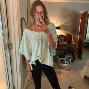 Free people over sized top